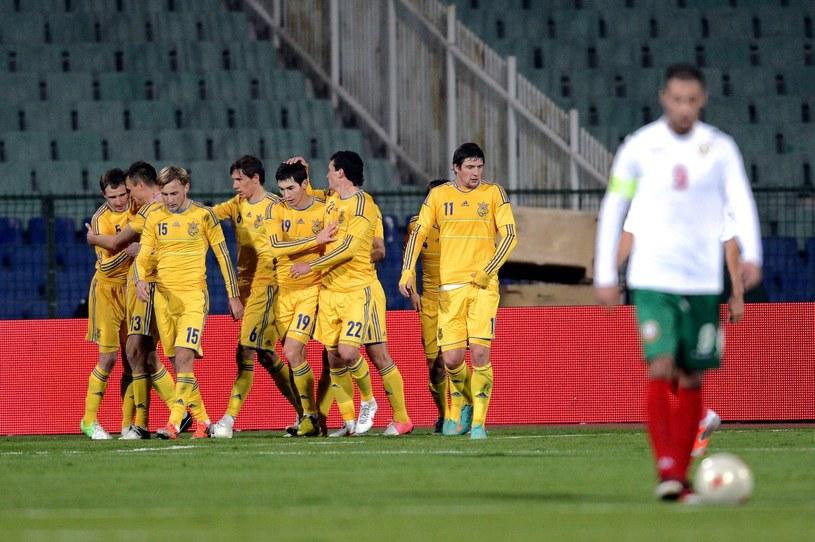 Piłkarze reprezentacji Ukrainy /AFP