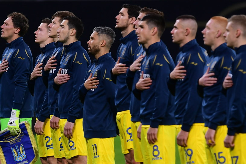 Piłkarze reprezentacji Ukrainy /PAP/EPA