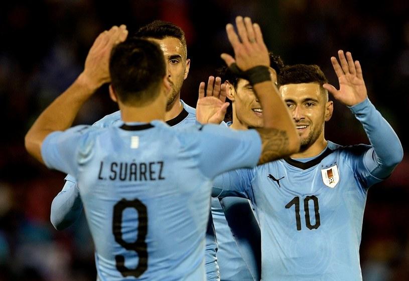Piłkarze reprezentacji Urugwaju /AFP