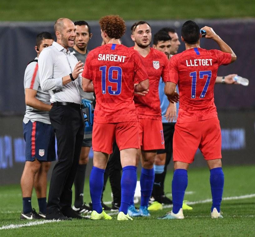 Piłkarze reprezentacji USA /AFP