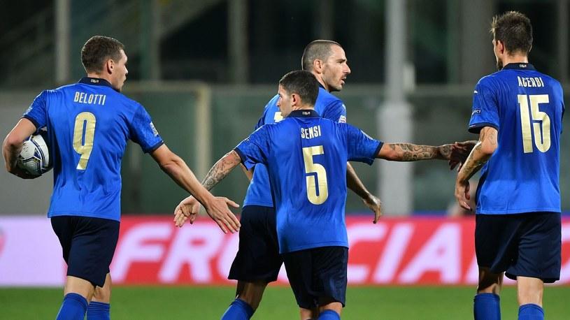 Piłkarze reprezentacji Włoch /ISABELLA BONOTTO /AFP