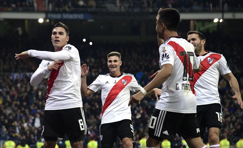 Piłkarze River Plate /AFP