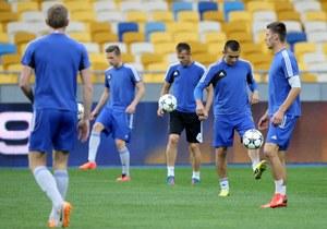 Piłkarze Ruchu trenowali na Stadionie Olimpijskim w Kijowie