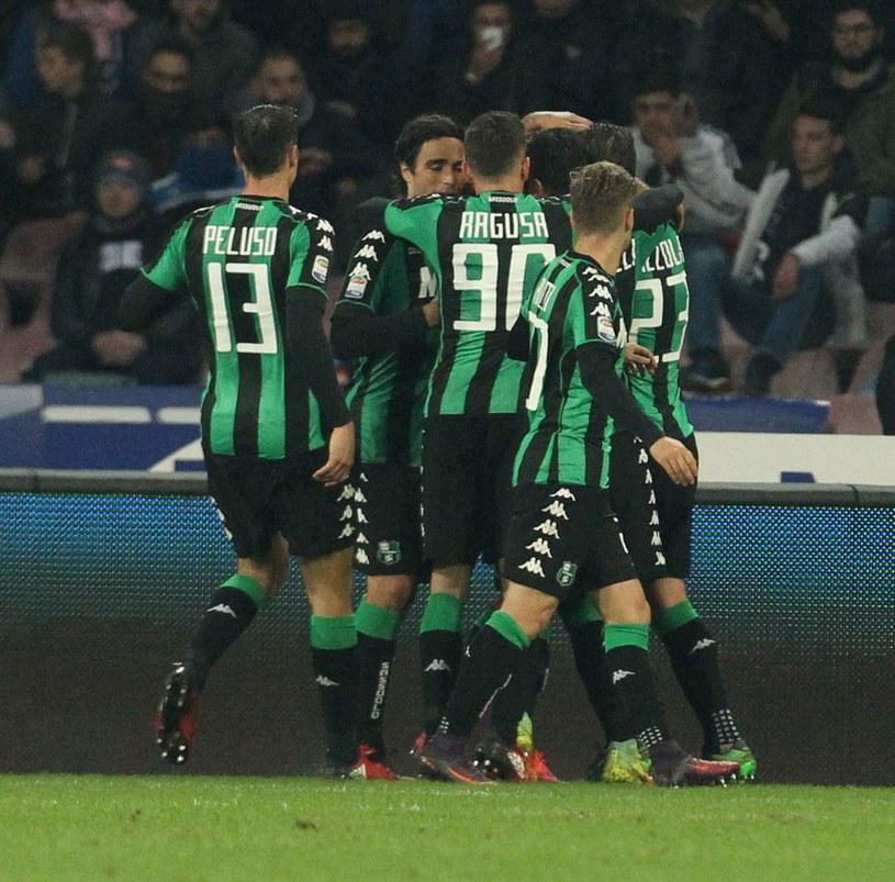 Piłkarze Sassuolo /AFP