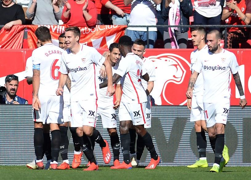 Piłkarze Sevilli w drugiej połowie rozbili Levante /AFP