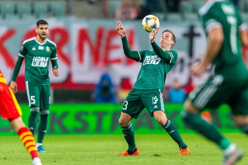 Piłkarze Śląska Wrocław /Maciej Witkowski /East News