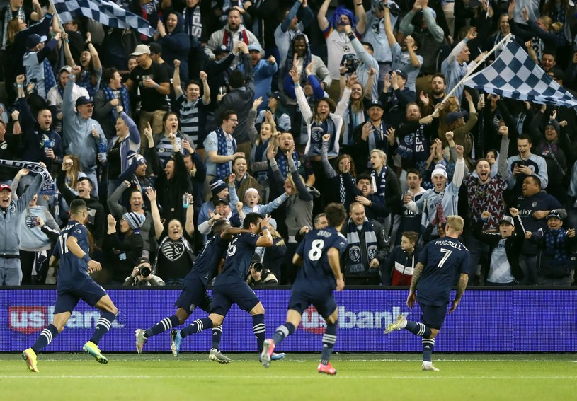 Piłkarze Sportingu Kansas City /AFP