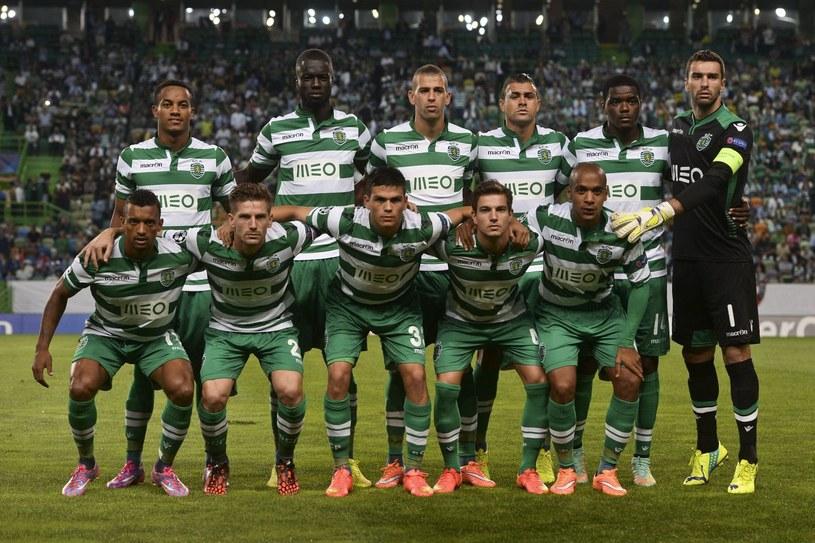 Piłkarze Sportingu Lizbona /AFP