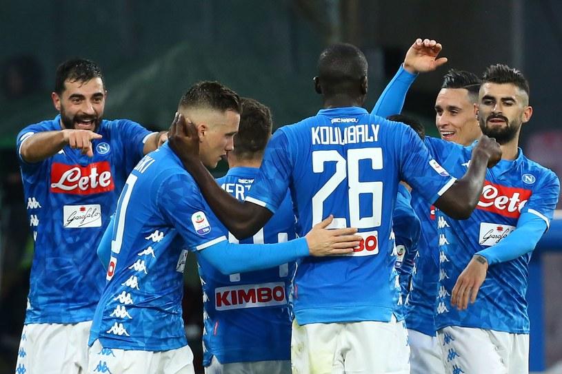 Piłkarze SSC Napoli /AFP
