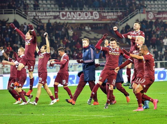 Piłkarze Torino /PAP/EPA