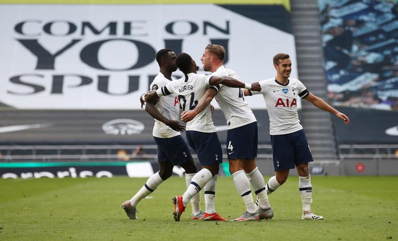 Piłkarze Tottenhamu mogą cieszyć się ze zwycięstwa /PAP/EPA/Tim Goode/NMC/Pool /PAP/EPA