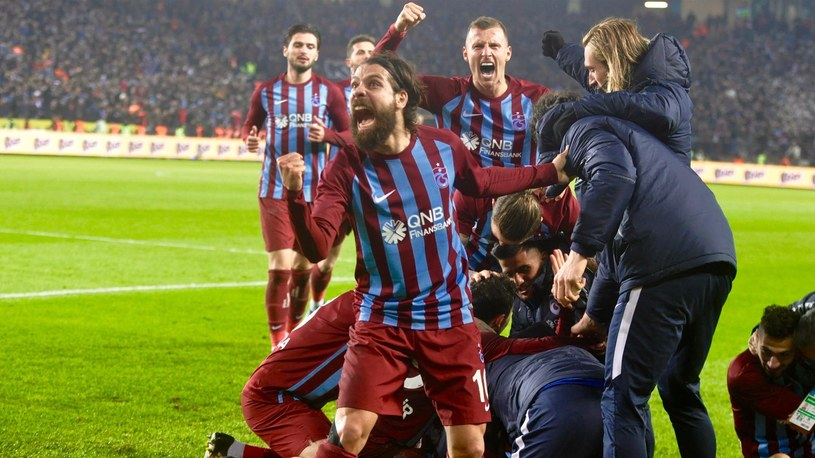 Piłkarze Trabzonsporu /AA