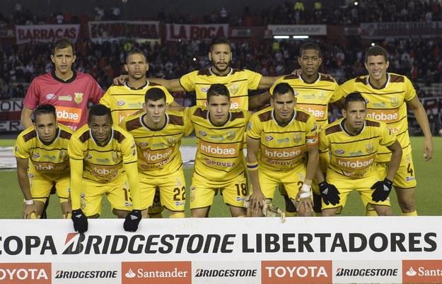 Piłkarze Trujillanos FC /AFP