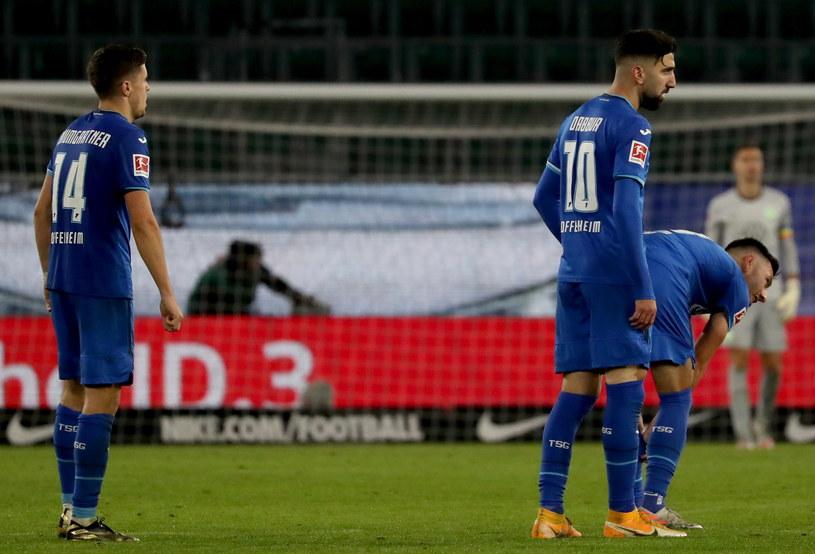Piłkarze TSG Hoffenheim /PAP/EPA
