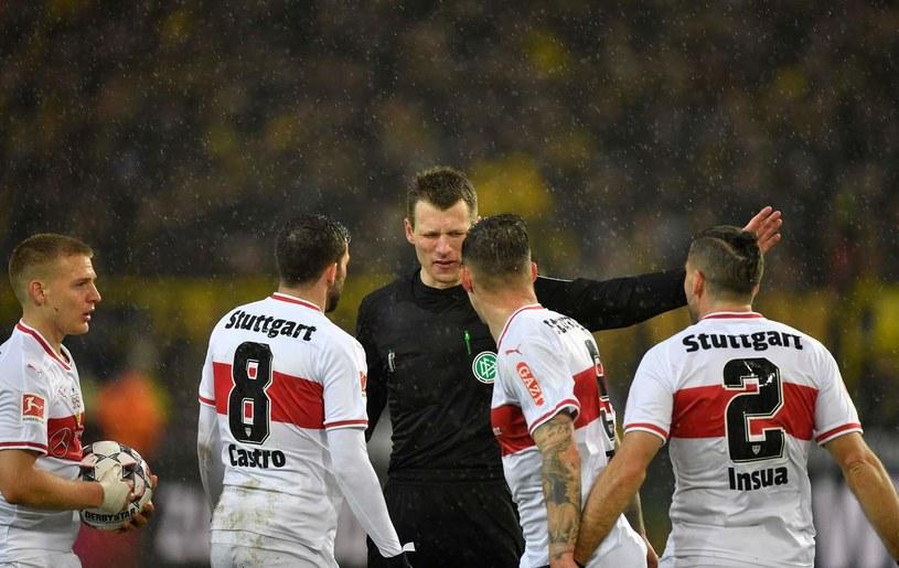 Piłkarze VfB Stuttgart /AFP