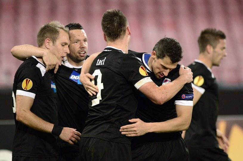 Piłkarze Viktori Pilzno dobrze sobie radzą w europejskich pucharach. /AFP