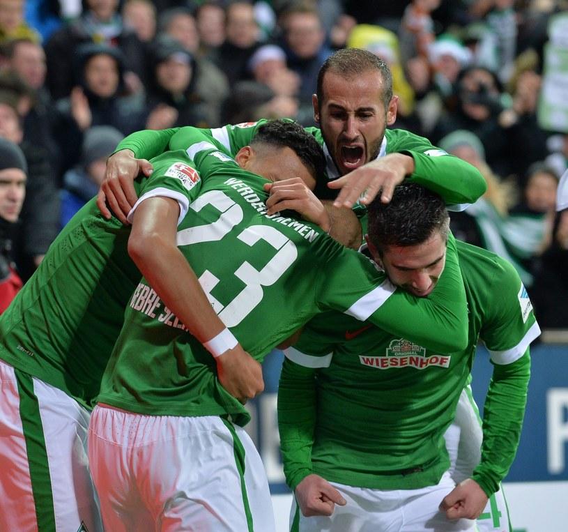 Piłkarze Werderu Brema /AFP