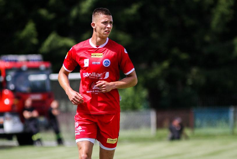 Piłkarze Wigier Suwałki - Adrian Piekarski /East News