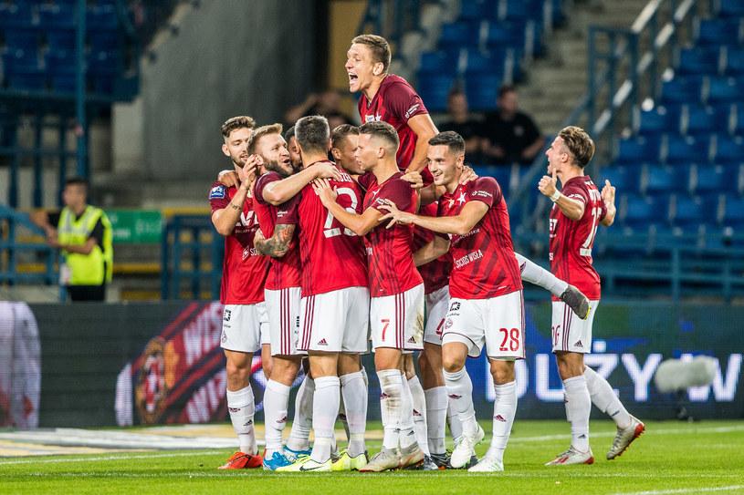 Piłkarze Wisły Kraków /Jakub Gruca  /Newspix