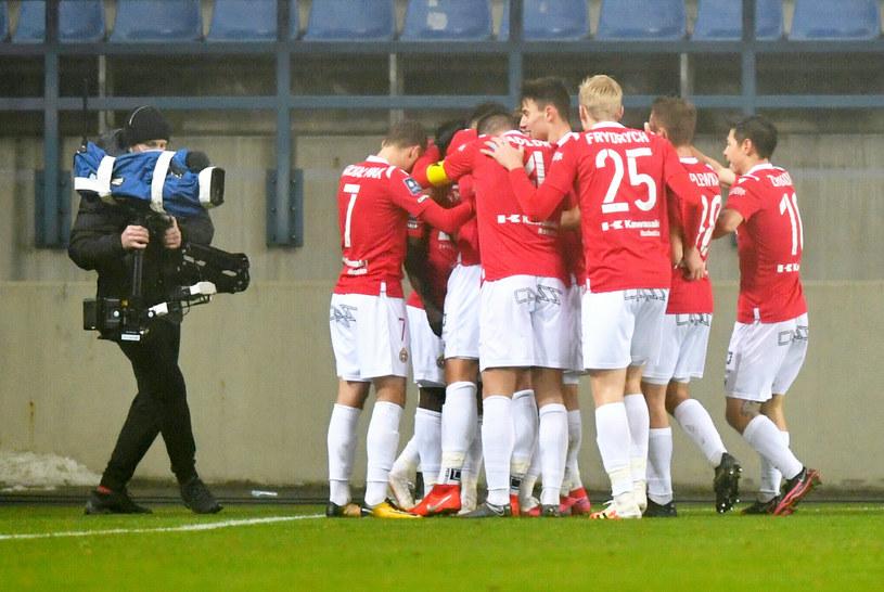 Piłkarze Wisły Kraków /Artur Barbarowski /East News