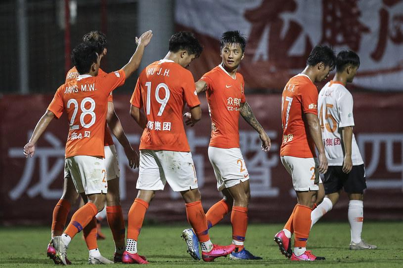 Piłkarze Wuhan Zall /Wang He /Getty Images