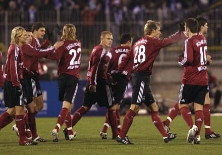 Piłkarze z Norymbergi /AFP
