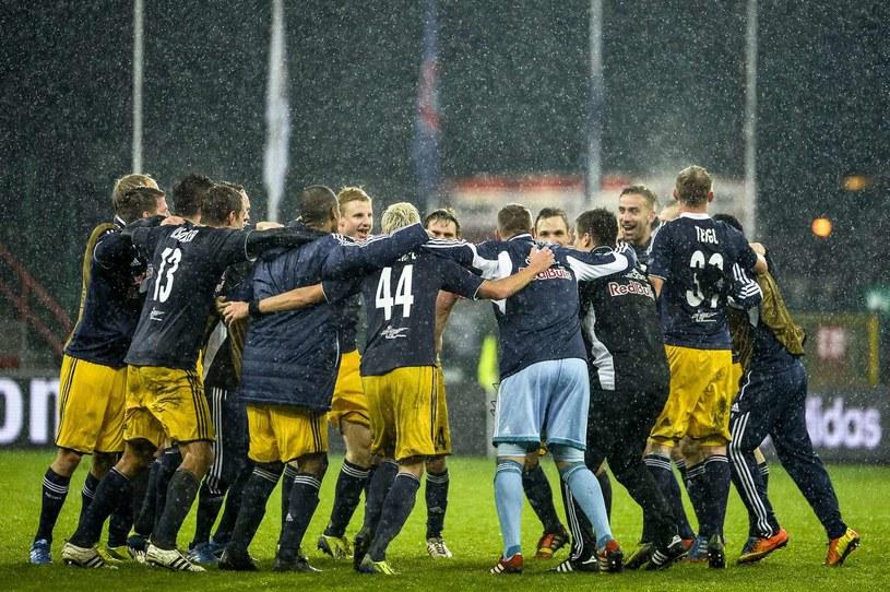 Piłkarze z Salzburga /AFP