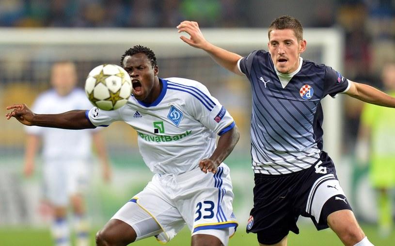 Piłkarze z Zagrzebia (ciemne stroje) nie mają ostatnio najlepszej passy /AFP