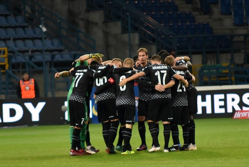 Piłkarze Zagłębia Sosnowiec /Marek Lasyk  /East News