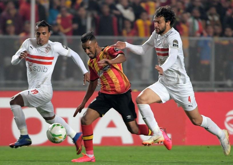Piłkarze Zamalek (na biało) /AFP