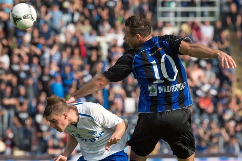 Piłkarze Zawiszy Bydgoszcz są blisko awansu do Ekstraklasy /Fot. Tytus Żmijewski /PAP