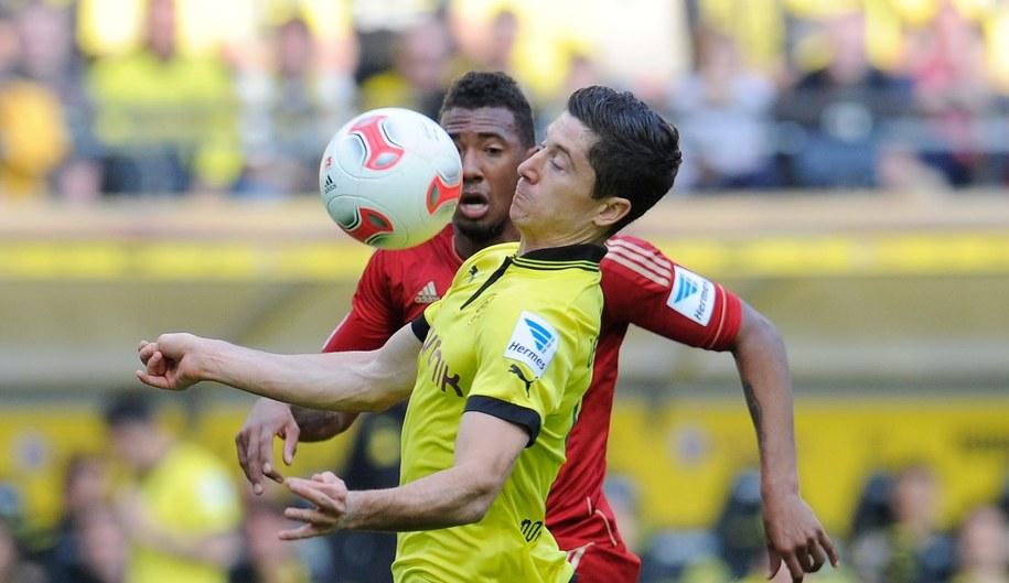 Piłkarze zmierzą się w sobotnim meczu /GES-Sportfoto /PAP/EPA