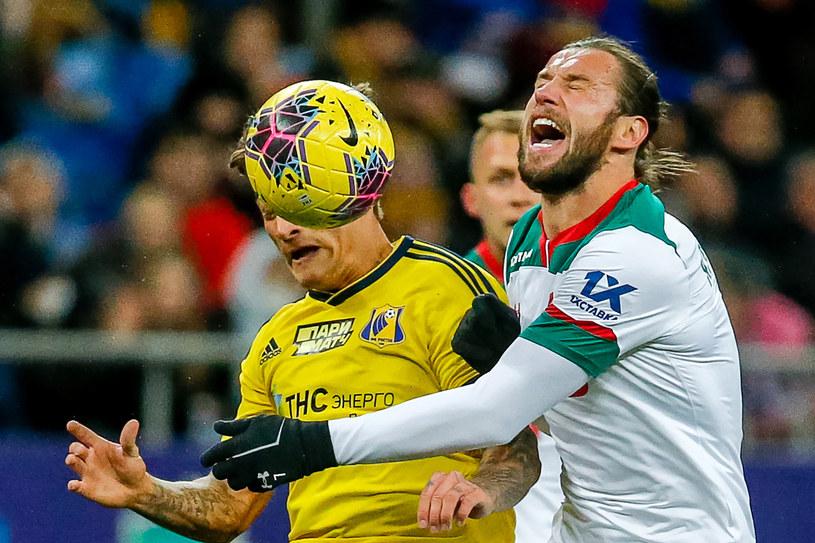 Piłkarzem Lokomotiwu jest Grzegorz Krychowiak (z prawej) /Getty Images