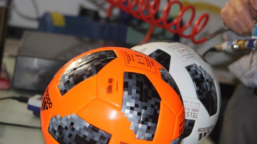 Piłki Telstar 18 badano w laboratoriach EMPA /EMPA /Materiały prasowe