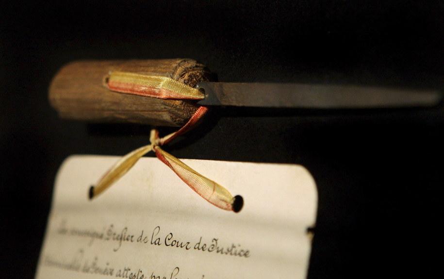 Pilnik, którym została zamordowana cesarzowa Austrii Elżbieta /ROBERT JAEGER /PAP/EPA