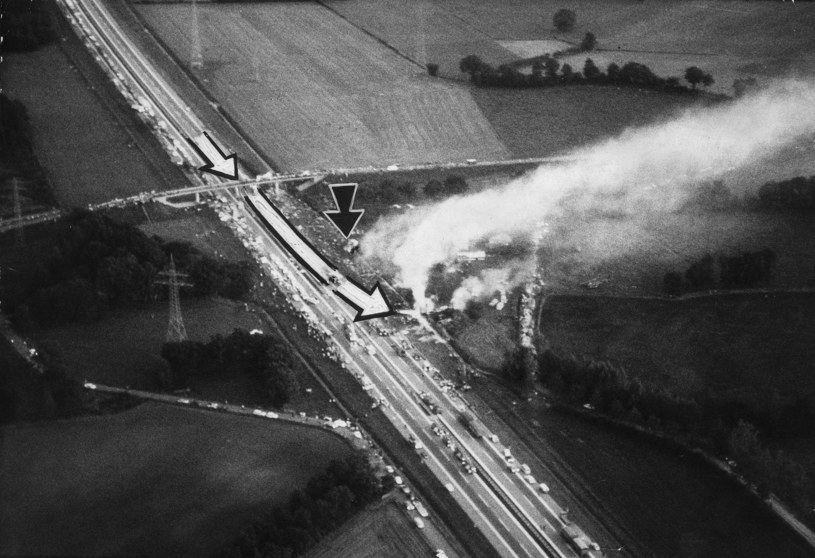 Piloci podjęli próbę wylądowania na niemieckiej autostradzie / ullstein bild / Contributor /Getty Images