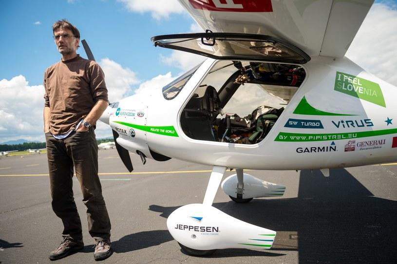 Pilot Matevź Lenarćić /AFP