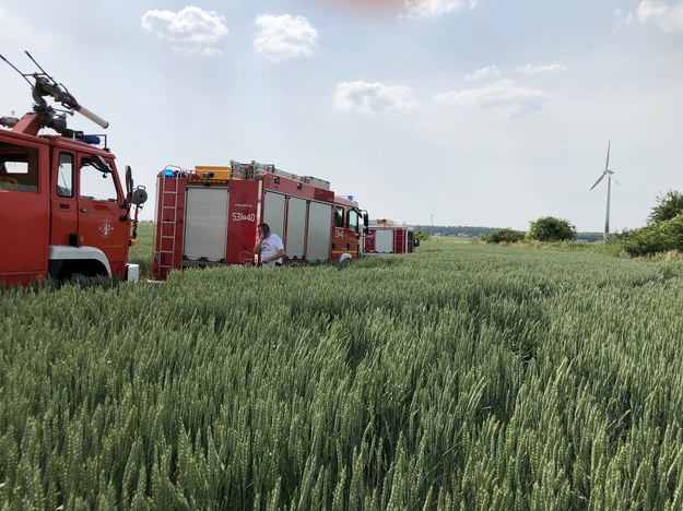 Pilot zginął /Karolina Bereza /RMF FM