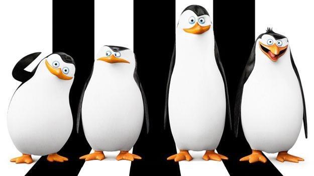 Pingwiny są jak Flip i Flap oraz Charlie Chaplin w jednym. /materiały dystrybutora