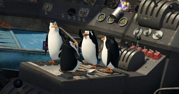 """Pingwiny w filmie """"Madagaskar 2"""" /materiały prasowe"""