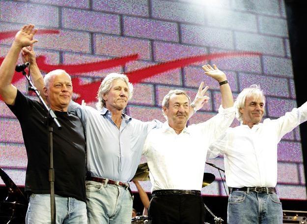 Pink Floyd na Live 8 w 2005 roku - fot. MJ Kim /Getty Images/Flash Press Media