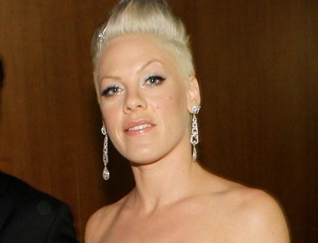 Pink wierzy, że urodzi córeczkę fot. Christopher Polk /Getty Images/Flash Press Media