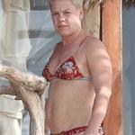 Pink z mężem na wakacjach w Meksyku. Tak prezentuje się w bikini