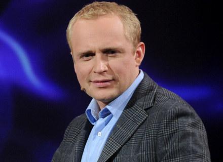 """Piotr Adamczyk gra głównego bohatera serialu """"Naznaczony"""", fot. Adam Kępiński /MWMedia"""
