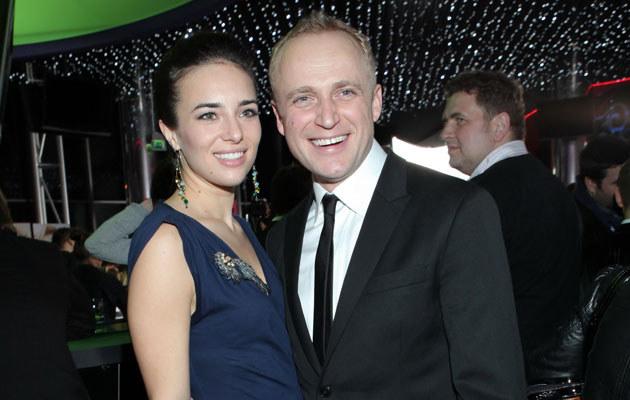 Piotr Adamczyk i Anna Czartoryska  /MWMedia