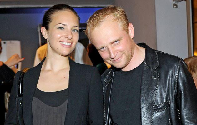 Piotr Adamczyk i Anna Czartoryska, fot. Andras Szilagyi  /MWMedia