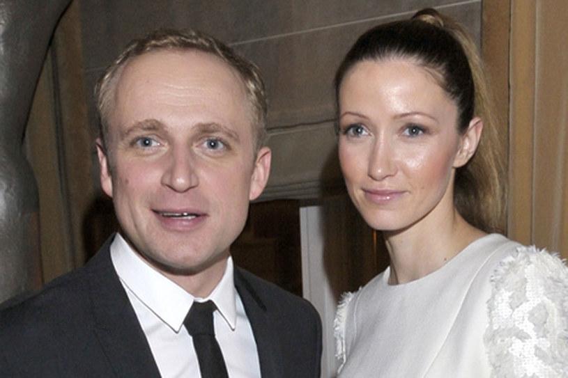 Piotr Adamczyk i Kate Rozz /AKPA