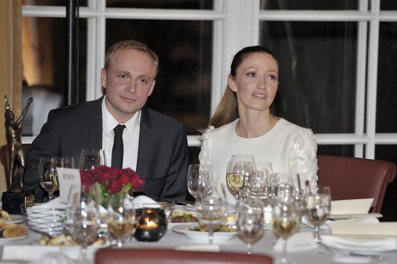 Piotr Adamczyk i Kate Rozz /Kurnikowski /AKPA