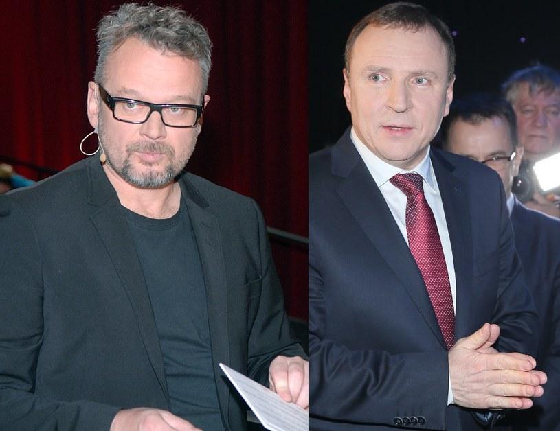 Piotr Bałtroczyk i Jacek Kurski /- /MWMedia