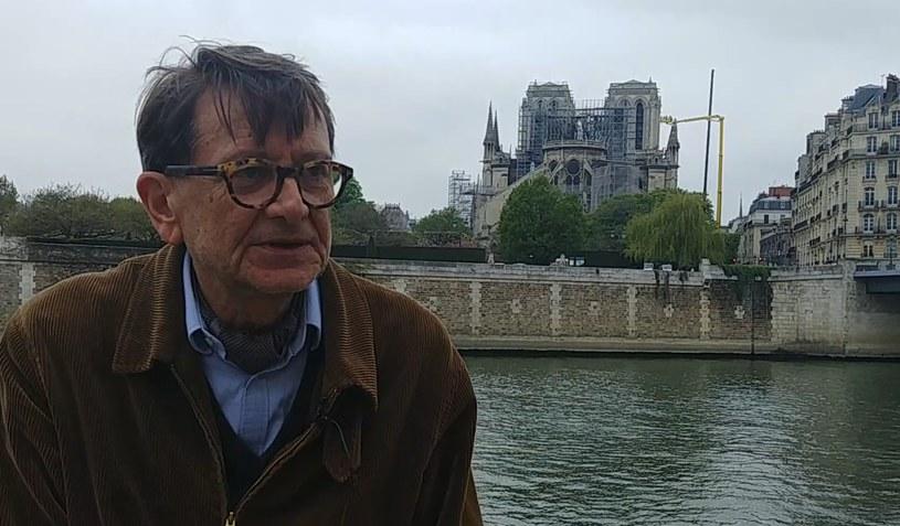 Piotr Błoński, wieloletni dziennikarz radia RFI, a potem attache prasowy Ambasady RP w Paryżu /Ewelina  Karpińska-Morek /INTERIA.PL